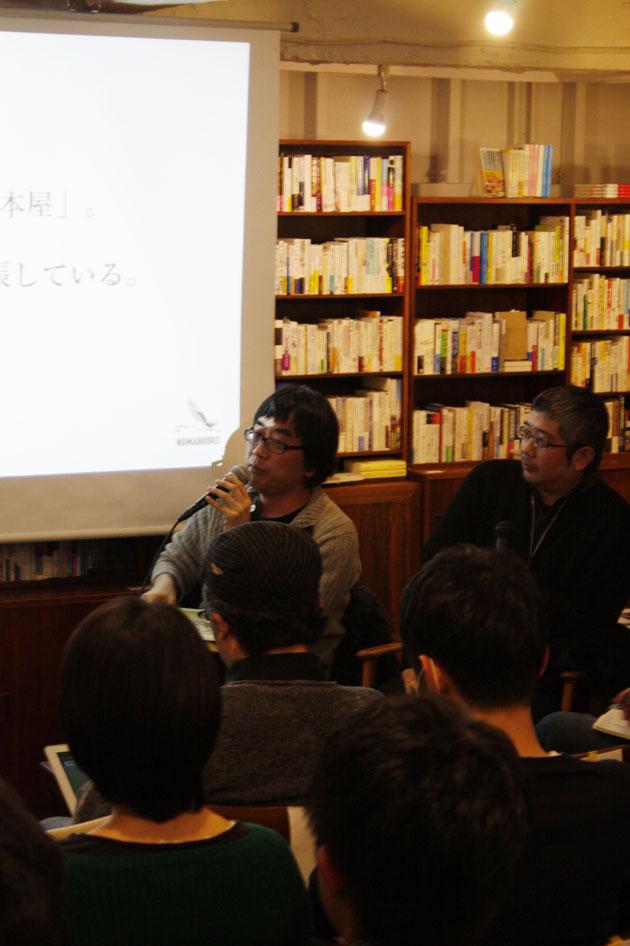 (左から)仲俣暁生、小林浩