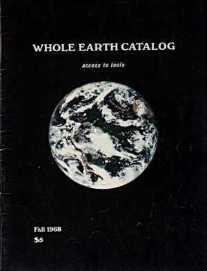 『Whole Earth Catalog』創刊号(1968年)[wholeearth.com より]