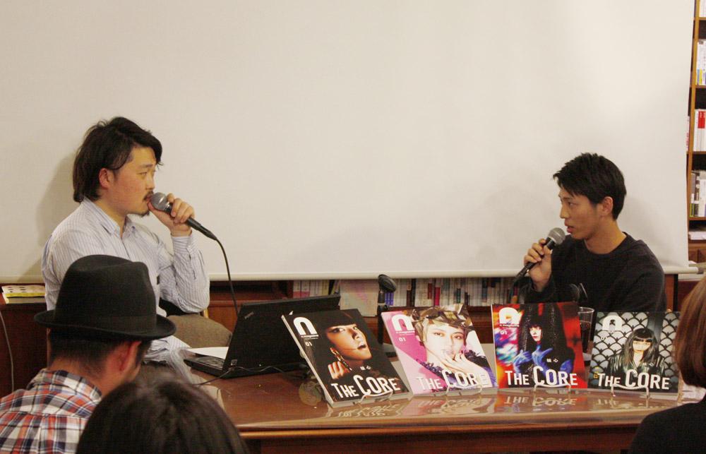 左から、内沼晋太郎、島崎賢史郎(敬称略)。