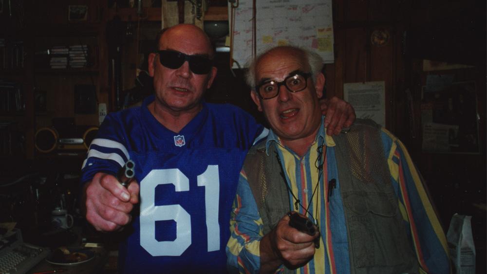 ハンター・S・トンプソン(左)とラルフ・ステッドマン