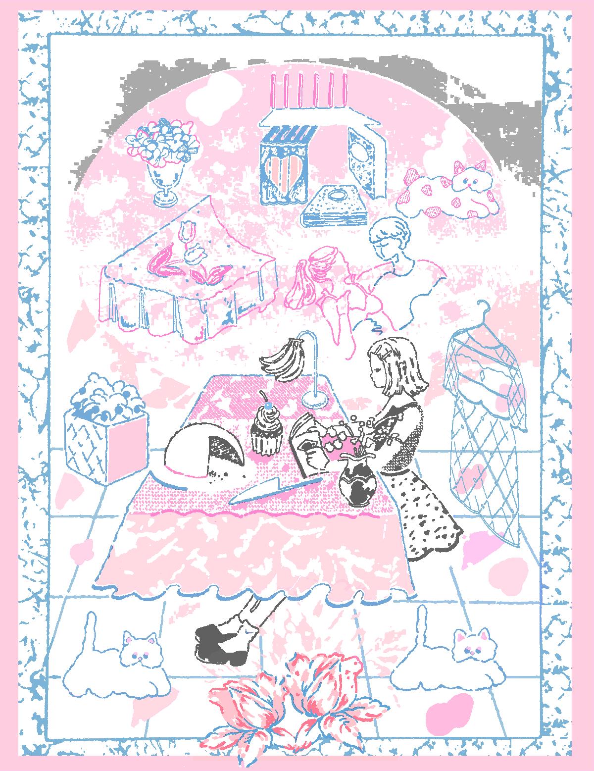 今月の1枚:『ピンクとブルー』