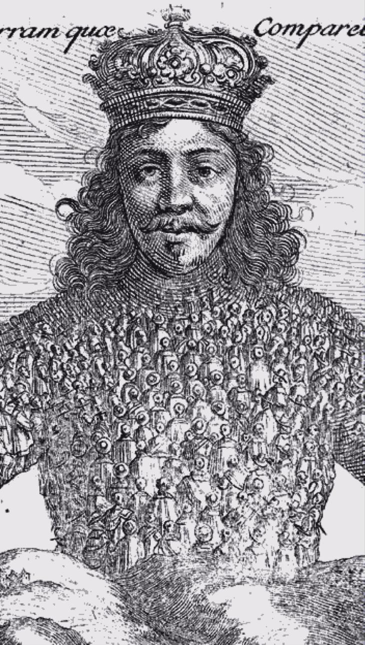 リヴァイアサンの鎧は、よく見ると無数の人間でできている