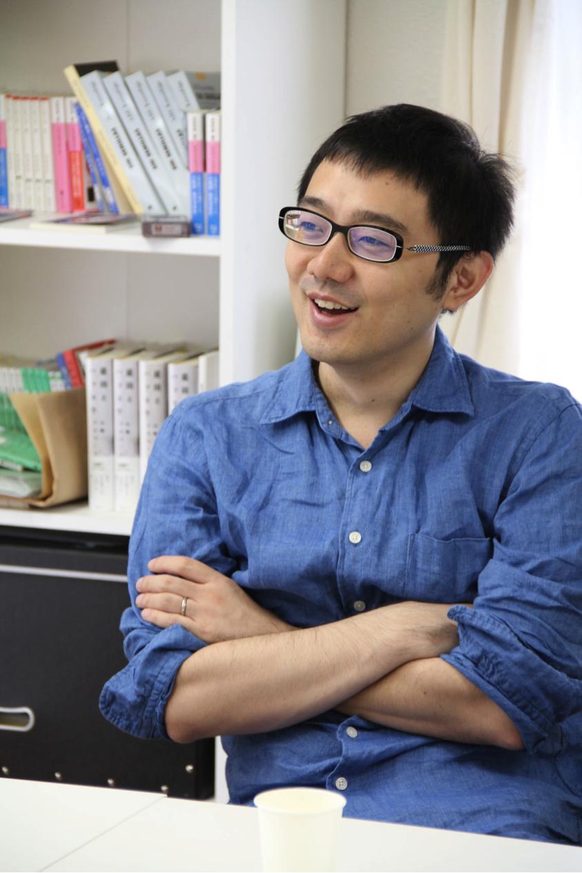 株式会社コルク代表取締役の佐渡島庸平さん