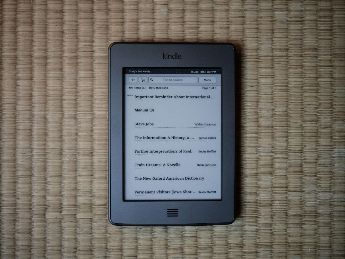 Kindle 写真1