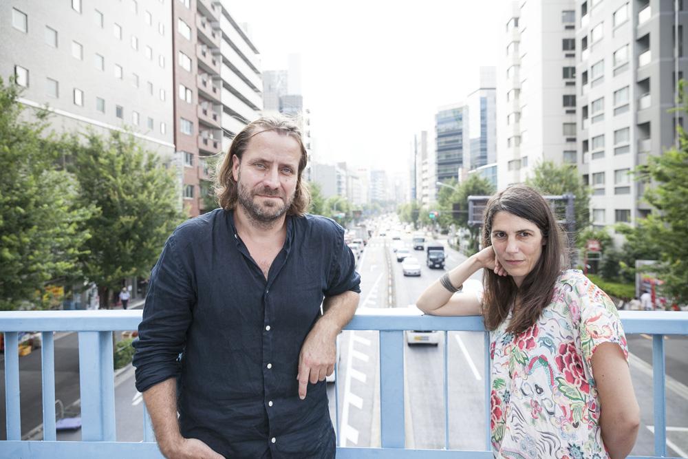 ルーシァン・キャステーヌ=テイラー監督(左)、ヴェレナ・パラヴェル監督