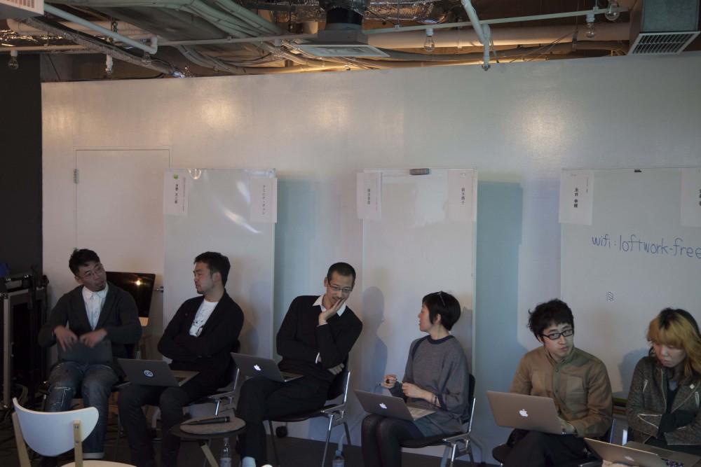 (左から)水野大二郎氏、ドミニク・チェン氏、岡田栄造氏、鈴木 潤子氏、永井幸輔氏、金森香氏