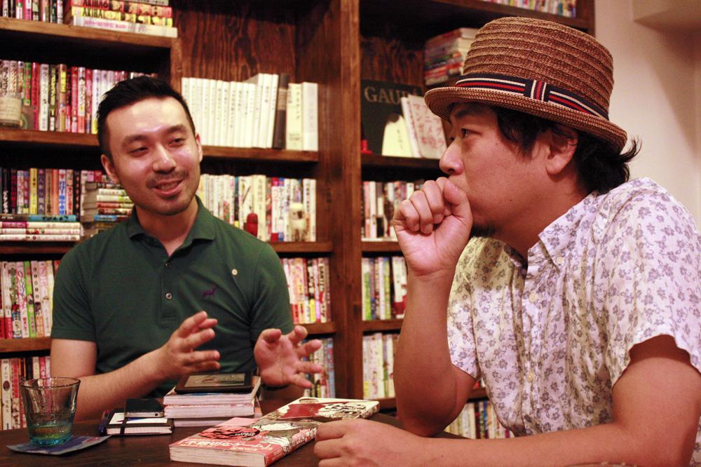 (左から)山内康裕さん、小沢高広さん