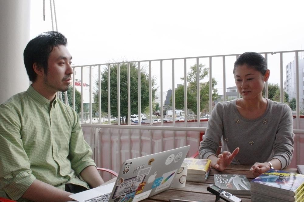 山内康裕さん(左)、山内菜緒子さん(右)