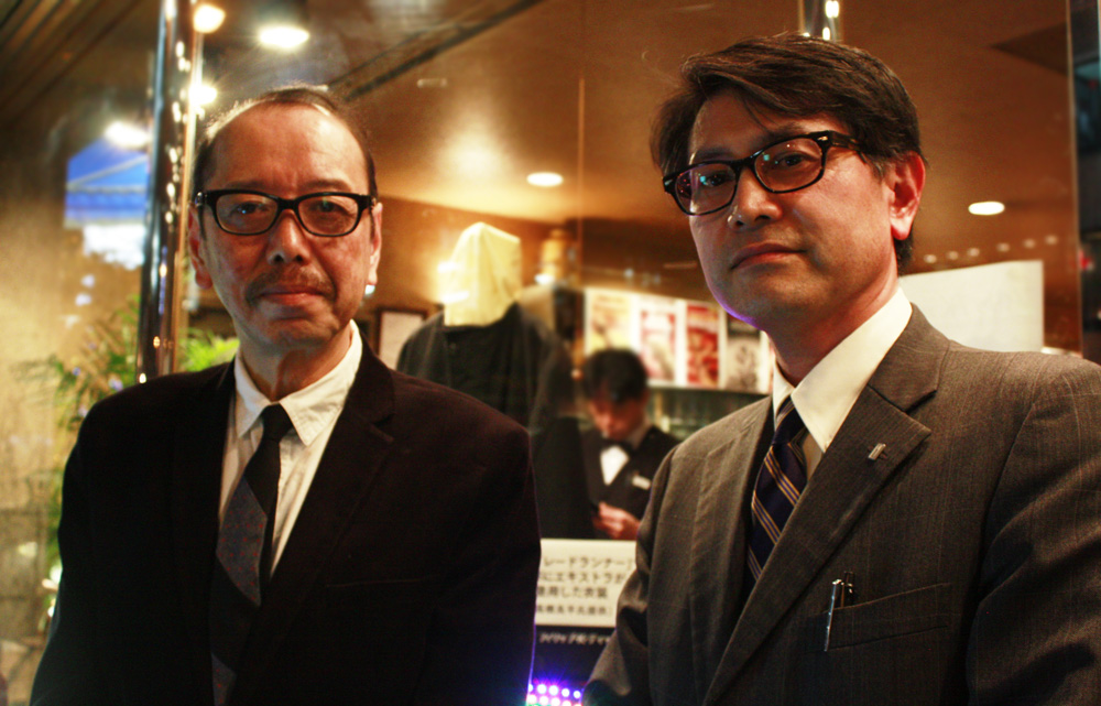 今回お話を伺った橋野さん(左)、千田さん(右)。どうもありがとうございました!