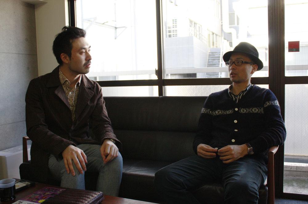 (左から)山内康裕さん、加藤隆生さん