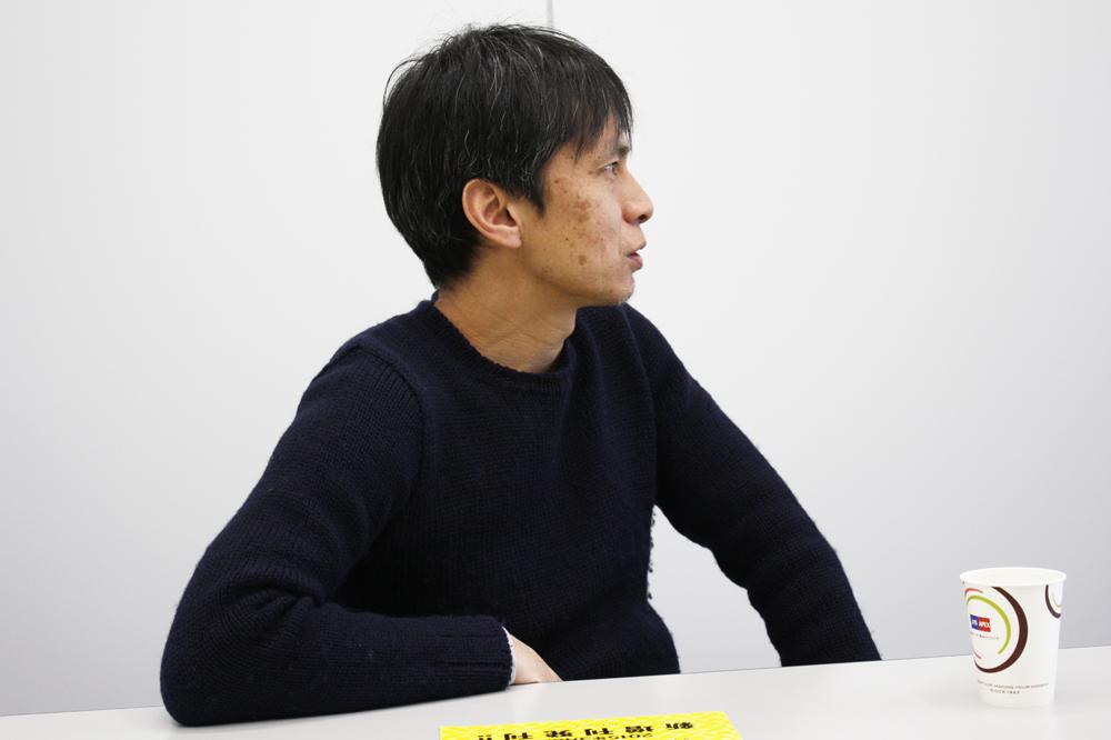 『ヒバナ』編集リーダー・湯浅生史さん