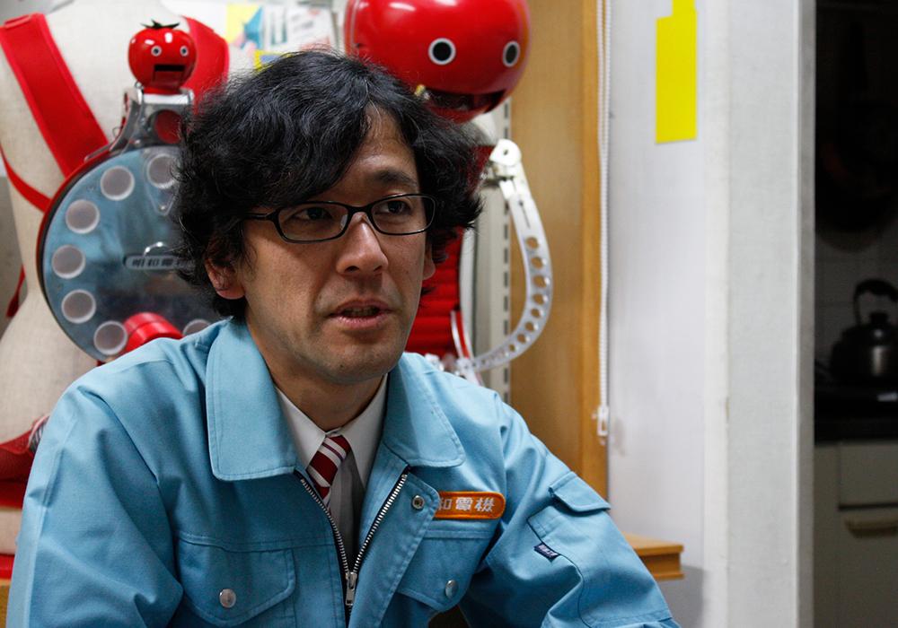 明和電機代表・土佐信道さん