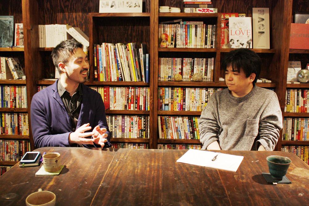(左から)山内康裕さん、樹崎聖さん