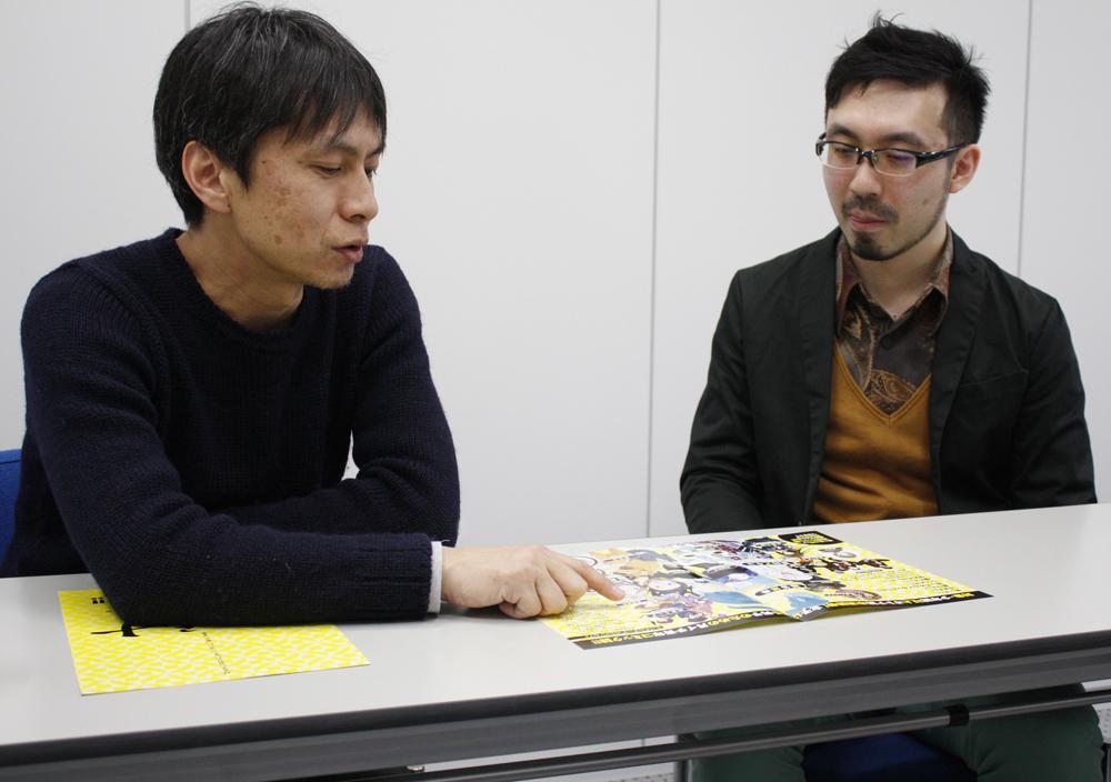 (左から)湯浅生史さん、山内康裕さん