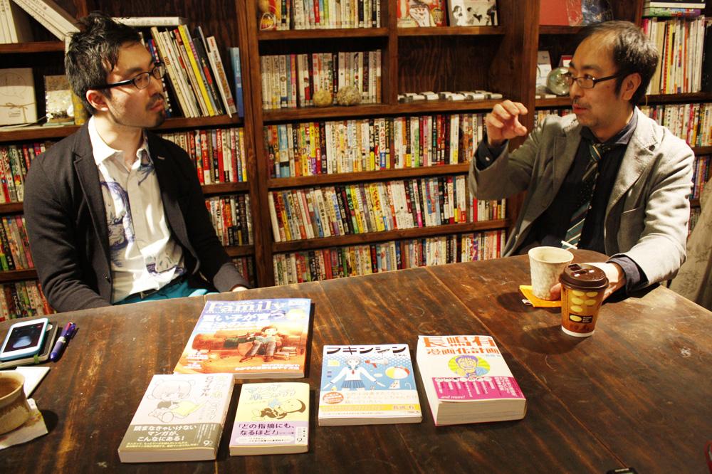 (左から)山内康裕さん、ブルボン小林さん