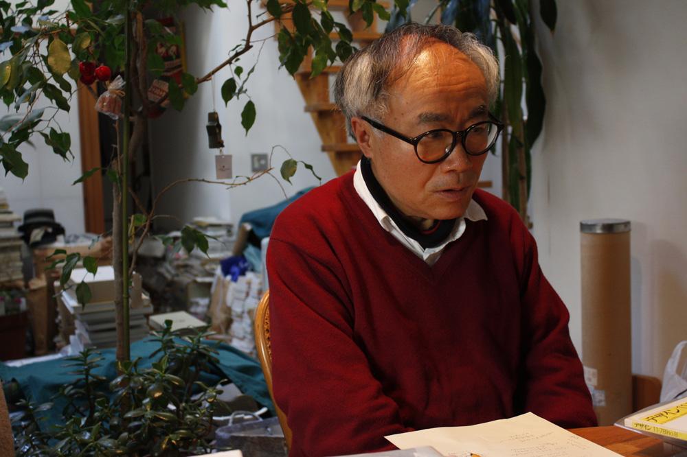 『工作舎物語』著者、臼田捷治さん