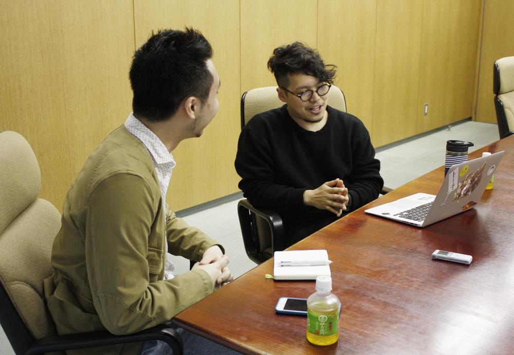 (左から)山内康裕さん、関谷武裕さん