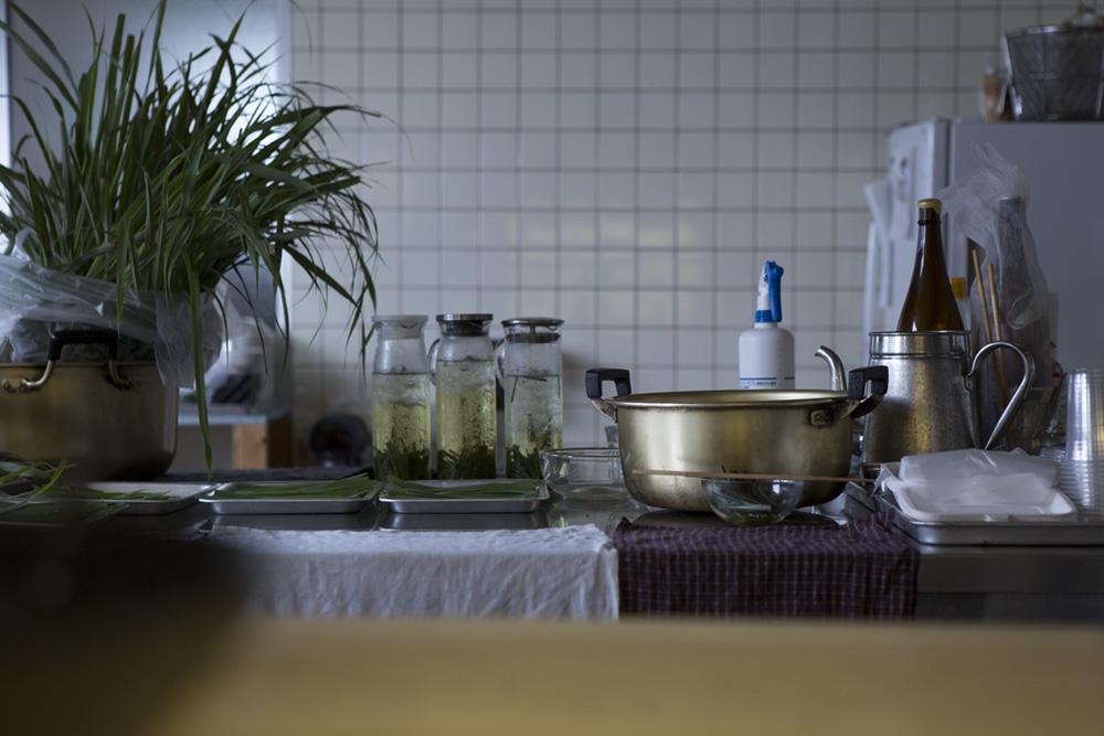(上記2点)このインタビューの少し後に開催された大地の芸術祭にて、poncotanとedition.nordがプロデュースした「Cafe CIAN」の様子 [Photo: Masahito Yamamoto]