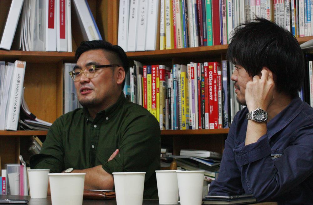 (左から)小田雄太さん、奥野武範さん