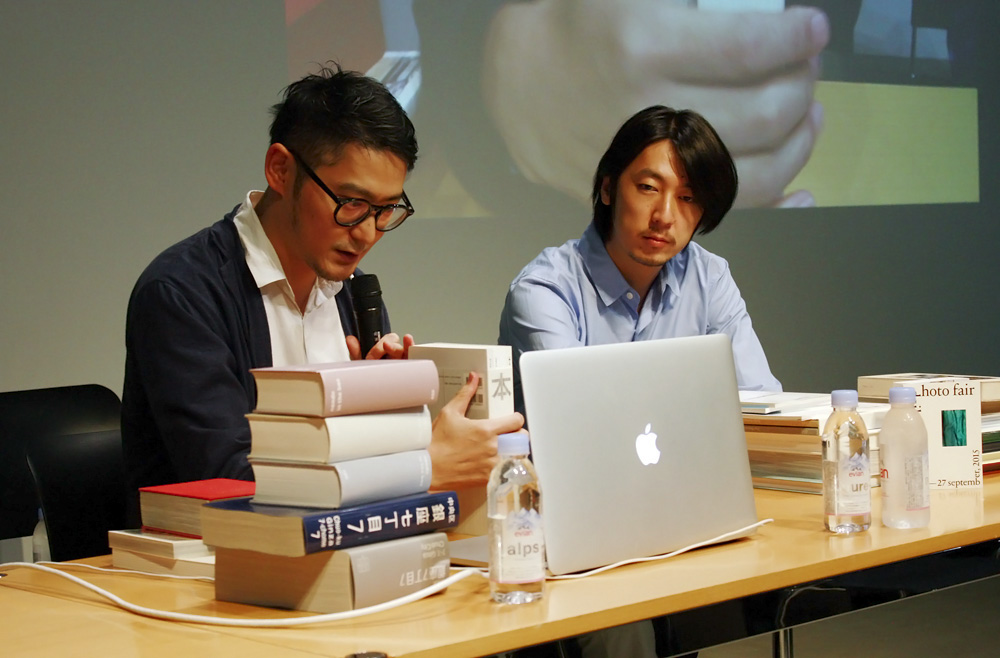 (左から)色部義昭氏、田中義久氏