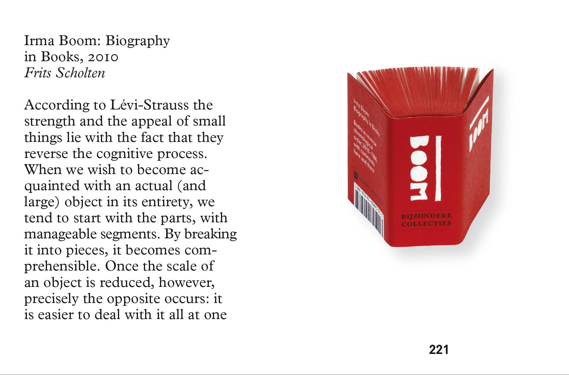 『Irma Boom: Biography』(2010年)