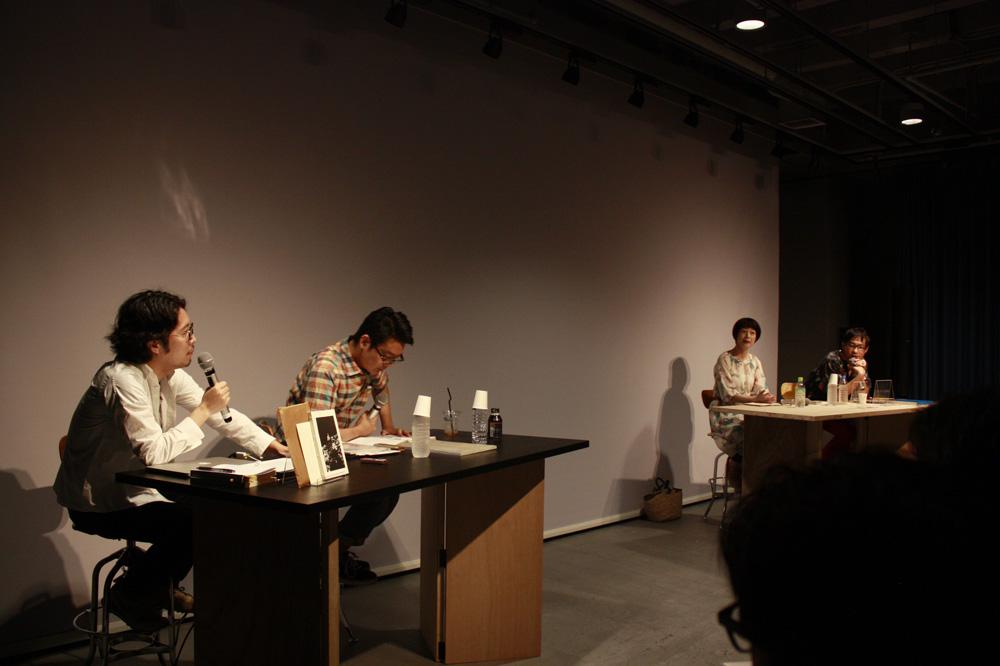 塚原敬史、高橋宗正、姫野希美、町口覚(左から/敬称略)