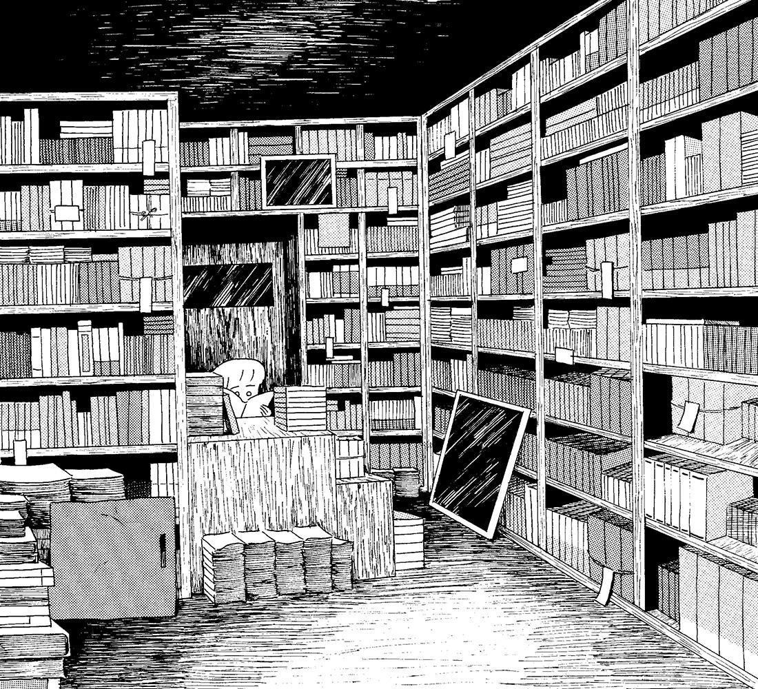 今月の1枚「古書店」