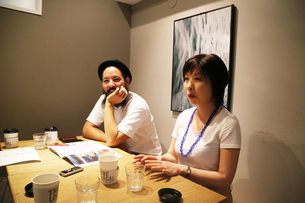 (左から)有田浩介さん、大竹久美子さん