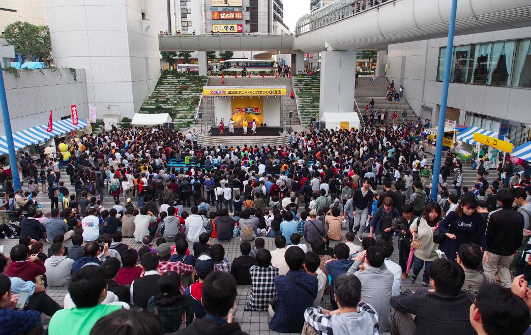 2015年に開催された第3回アニ玉祭の様子