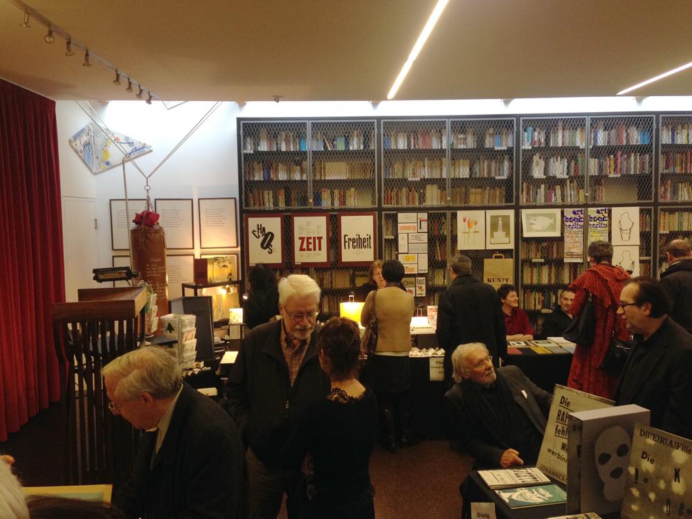 ミュンヘンで開催されたブックアートのフェア(2014年)