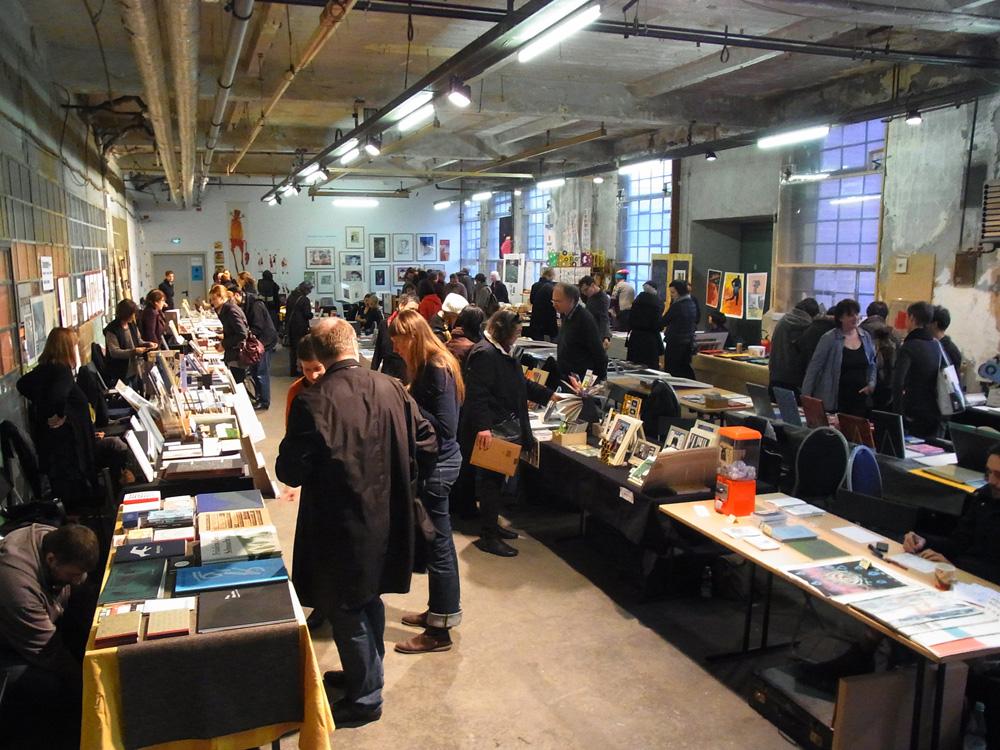 ベルリンで開催されたブックアートのフェア(2013年)