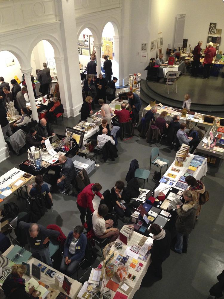 ベルリンで開催されたブックアートのフェア(2014年)