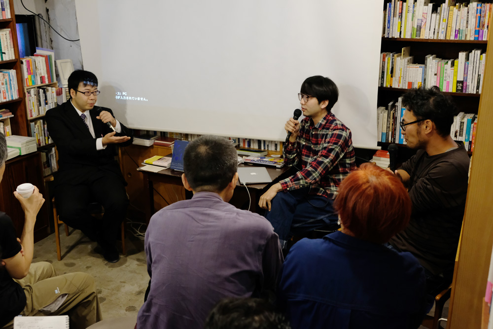 (左から)藤田氏、影山氏、小松氏