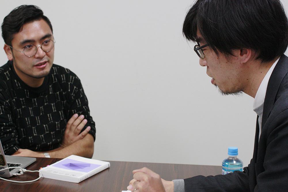 (左から)小田雄太さん、佐賀一郎さん