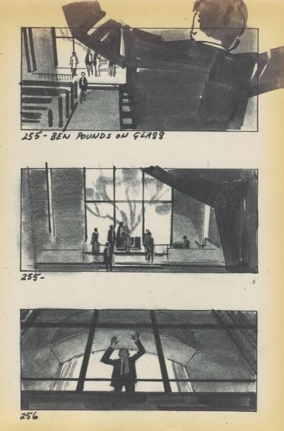 『卒業』(1967)の絵コンテ/『ハロルドとリリアン ハリウッド・ラブストーリー』より ©2015 ADAMA FILMS All Rights Reserved