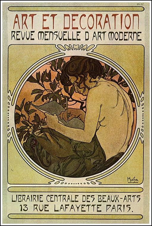 アルフォンス・ミュシャによるポスター[Wikimedia Commonsより]