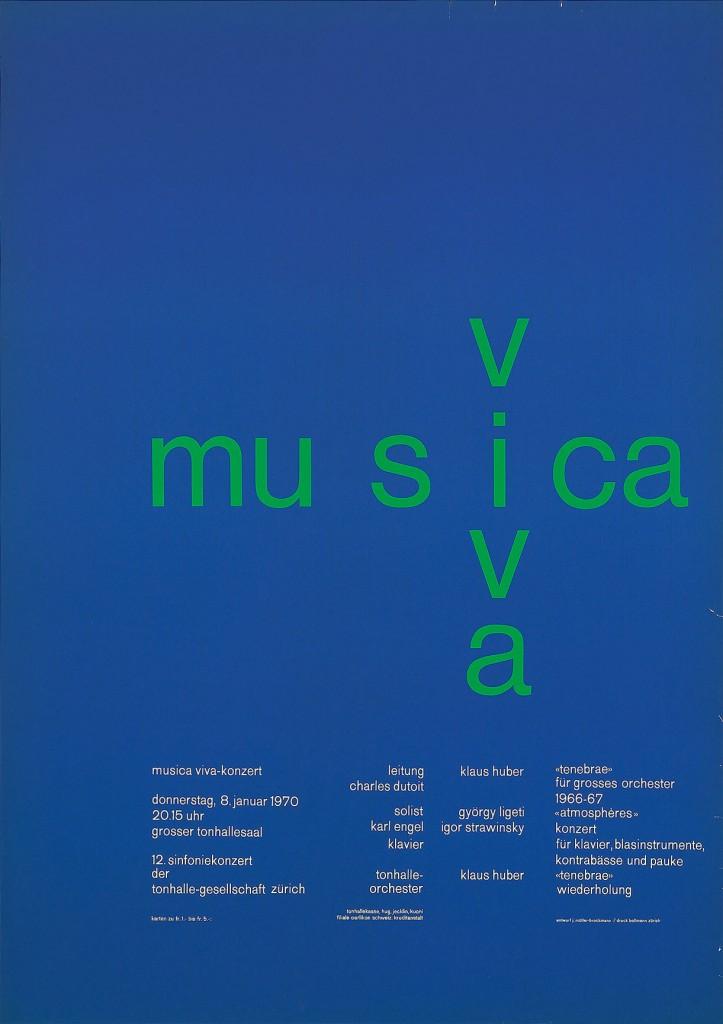 ムジカ・ヴィヴァ、1970年