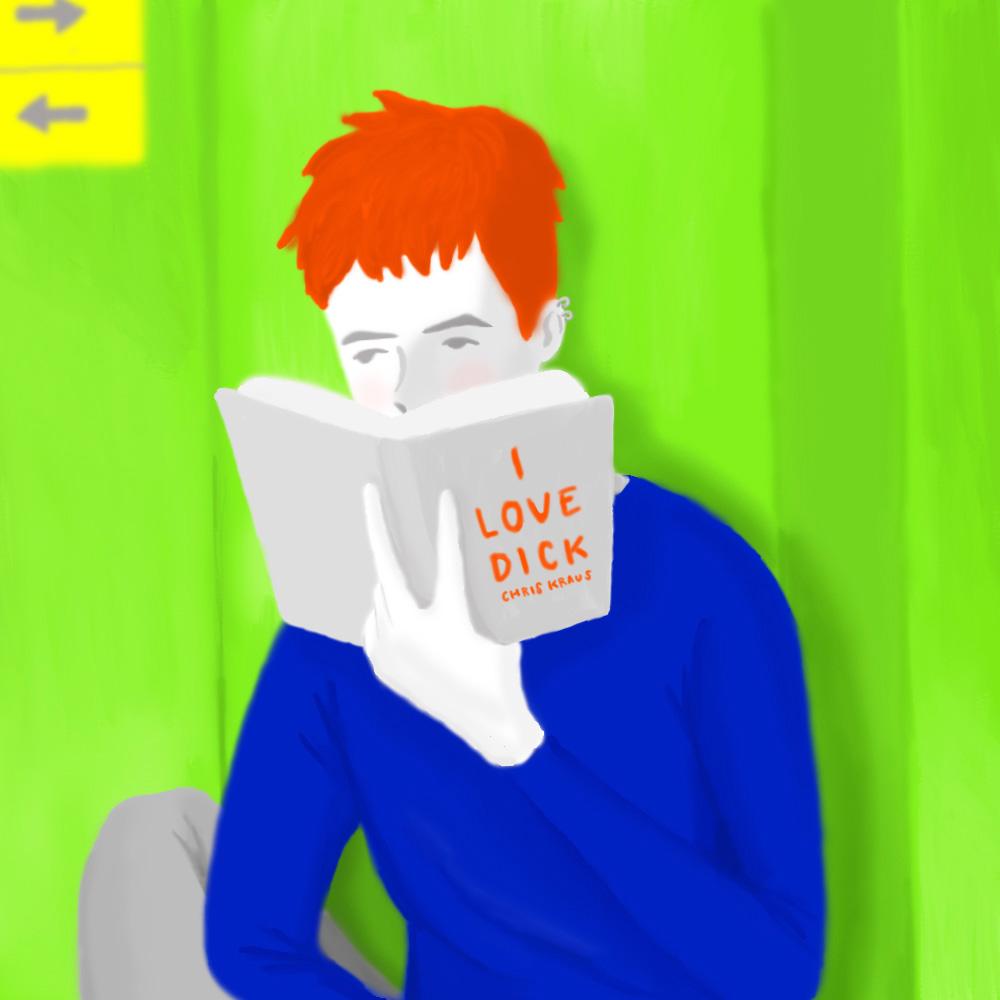 今月の1枚:「I LOVE 'I LOVE DICK'」(※クリックで拡大できます)