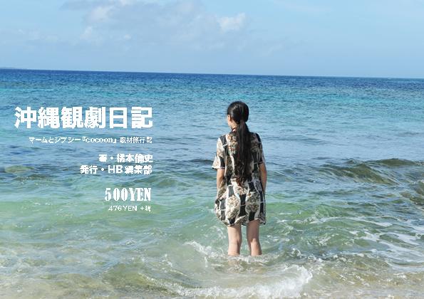 『沖縄観劇日記』(2013年8月発行)