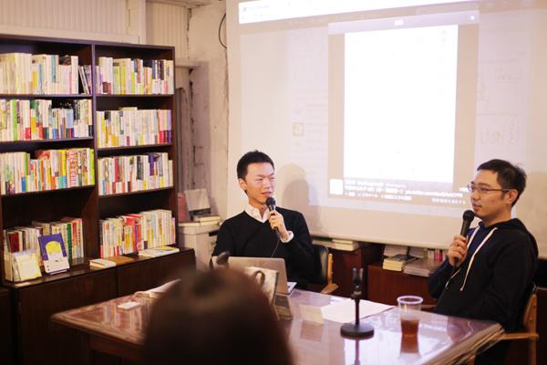 今村友紀さん(左)・佐渡島庸平さん(右)