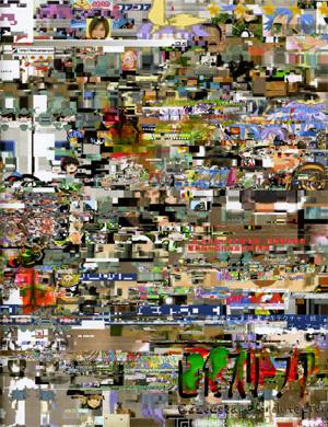 画像スケープ・アーキテクチャー(紙) / 梅沢和木 (2009)